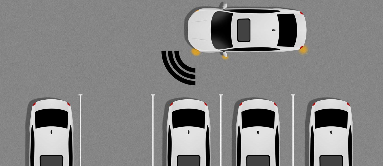 Asssistenzsysteme können beim Finden eines Parkplatzes und beim Einparken helfen.