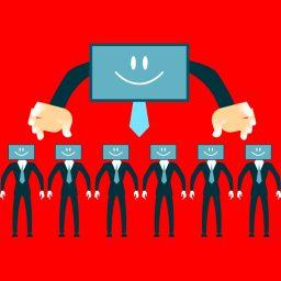 """<p style=""""color:#00576a"""";>Fake, Filter und Bots – ein Risiko für die Demokratie?</p>"""