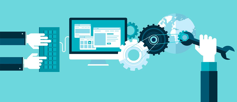 Industrie 4.0: Über das Internet werden Produktionsprozesse gesteuert.